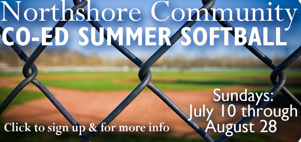 Northshore Community Co-Ed Summer Softball