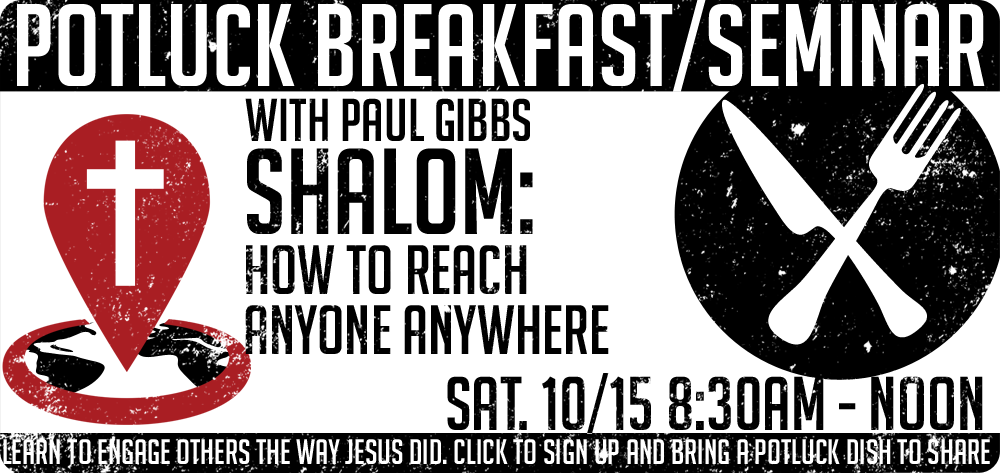 Prayer Breakfast and Paul Gibbs Seminar