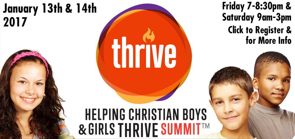 Helping Christian Boys & Girls Thrive Summit