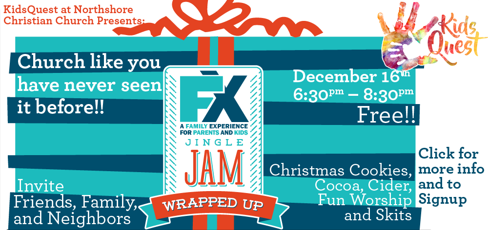 KidsQuest FX Family Experience Jingle Jam
