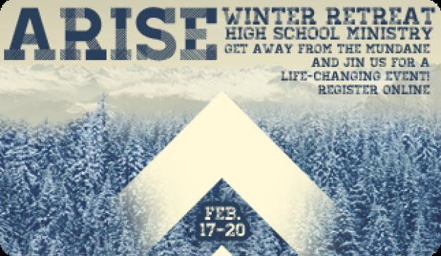 High School Ministry Winter Retreat 2017