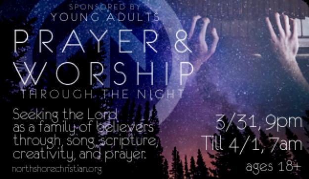 Prayer & Worship Through the Night