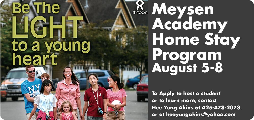 Meysen Academy Home Stay Program