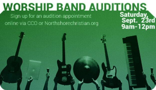 Worship Ministry Band Auditions