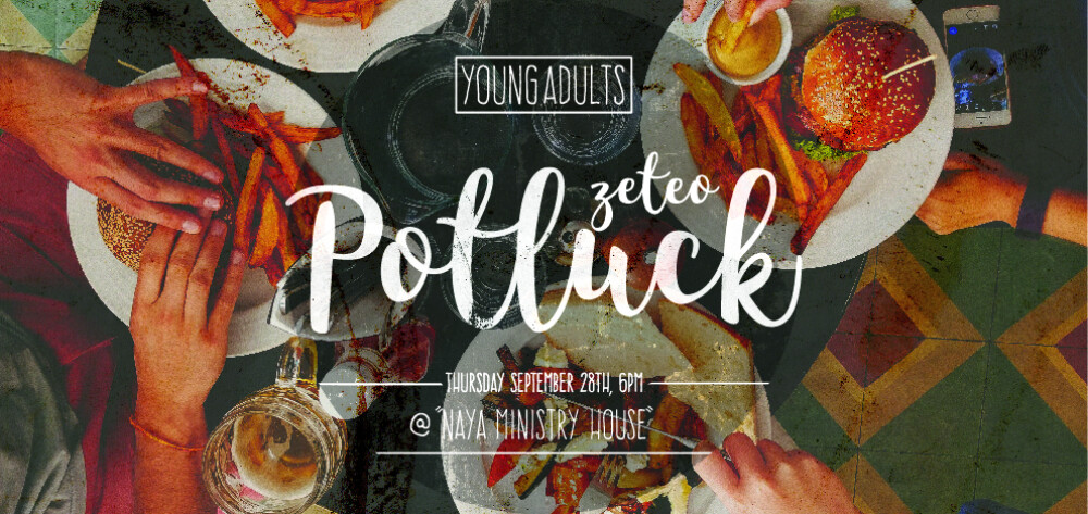Young Adults Zeteo Potluck