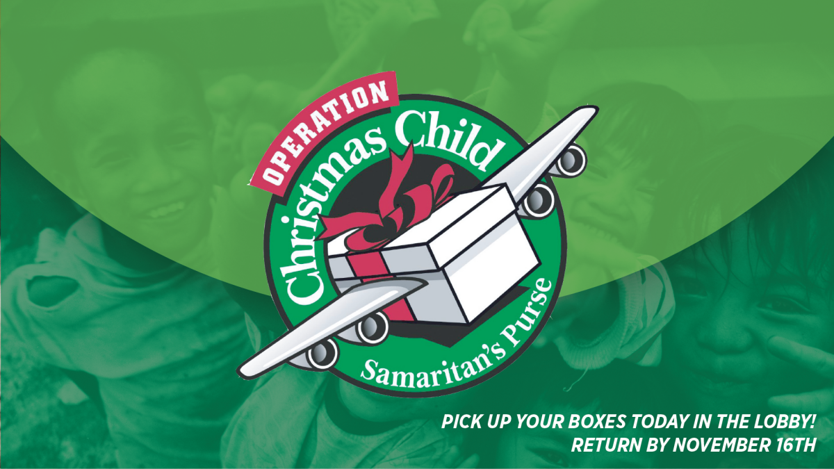 Operation Christmas Child Shoe Box Collection