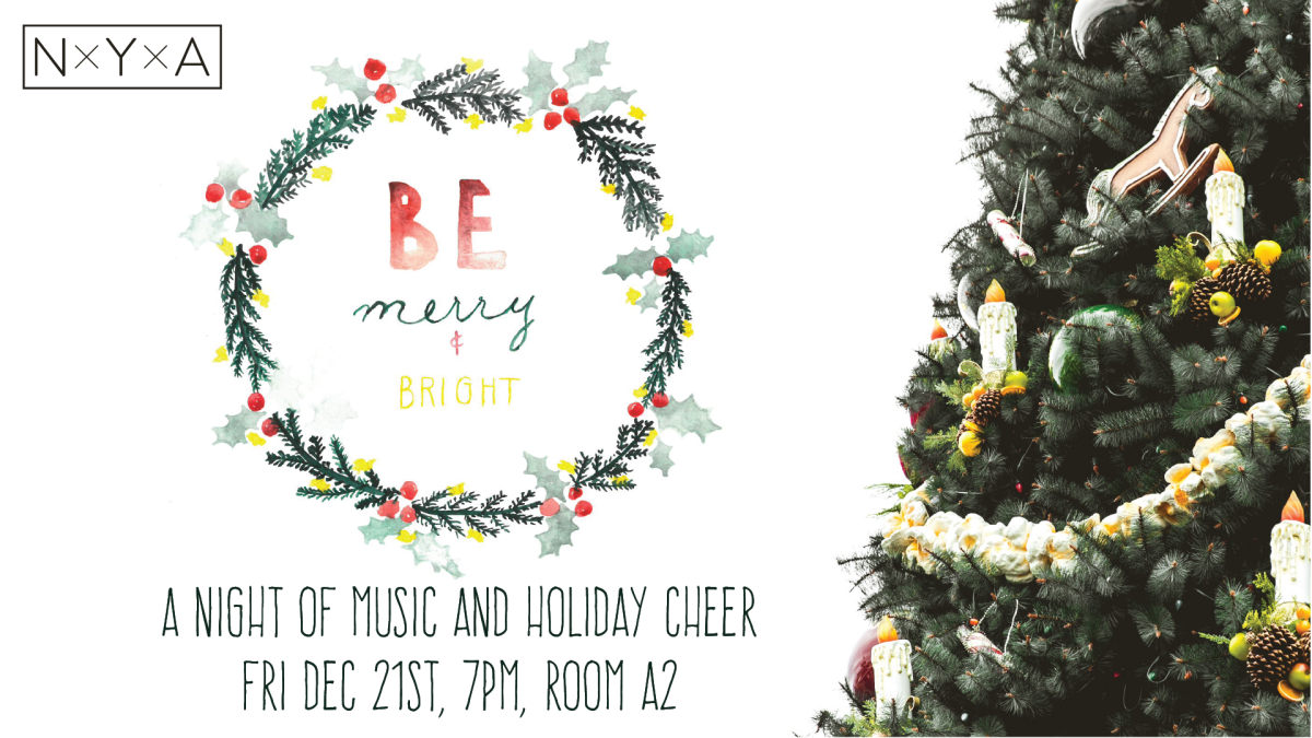 BE Merry and Bright: A Night of Music and Holiday Cheer