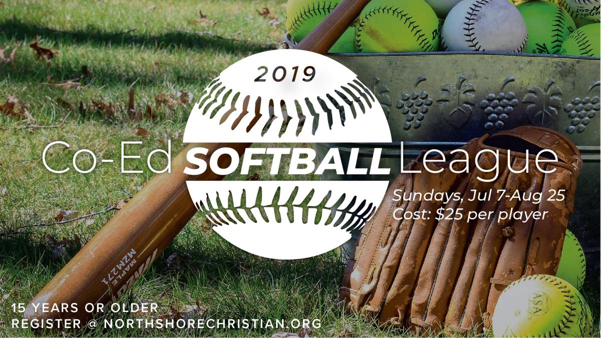 2019 Co-ed Softball
