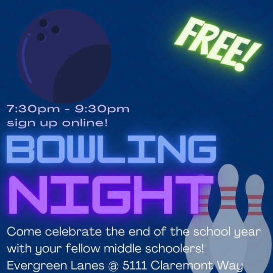 Middle School Bowling Night