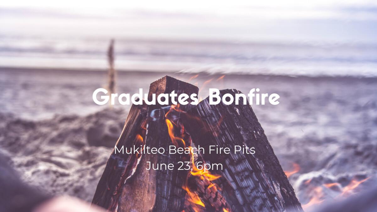 Young Adults Graduates Bonfire